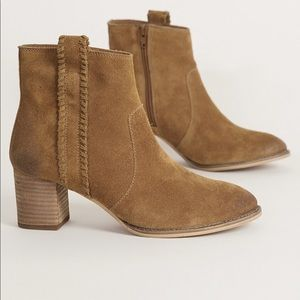 Naughty Monkey Tan Leather Ankle Boots
